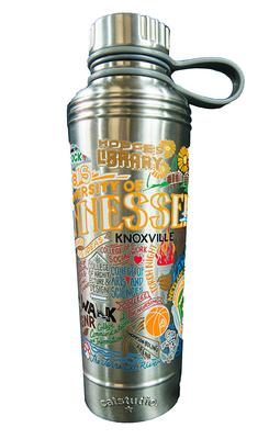 Tennessee Catsudios Stainless Steel Thermal Water Bottle