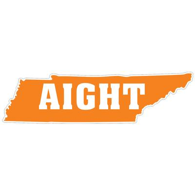 Aight Tennessee State Outline Decal 4