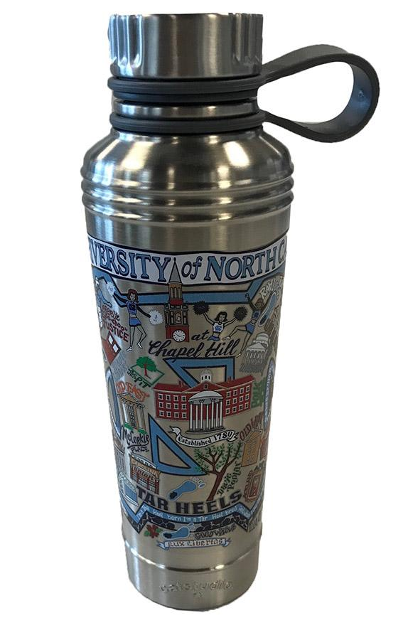 Unc Catsudios Stainless Steel Thermal Water Bottle