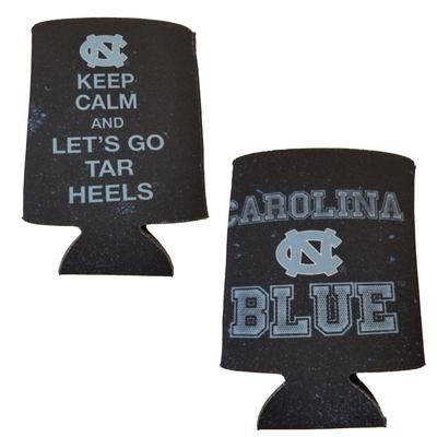 UNC Keep Calm Can Coozie