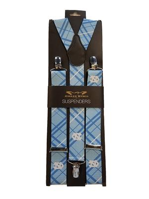 UNC Men's Oxford Stripe Suspenders