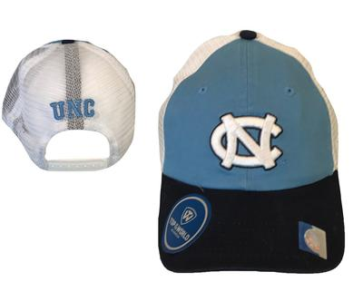 UNC Top Of The World NC Logo Adjustable Trucker Hat