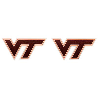 Virginia Tech 2 pack VT Logo Decals