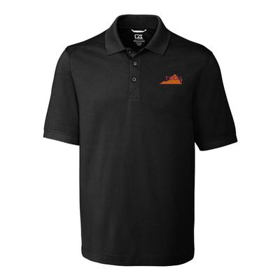 Virginia Tech Cutter And Buck Vault Logo Advantage DryTec Polo