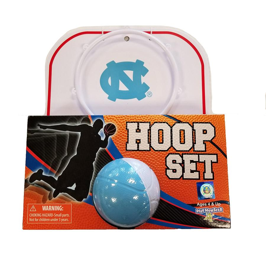 Unc Mini Basketball Hoop Set
