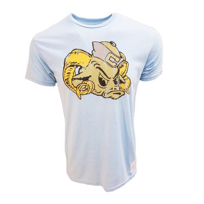UNC Retro Brand Short Sleeve Mock Twist Tee