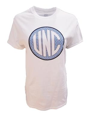 UNC Women's Chevron Monogram T-Shirt