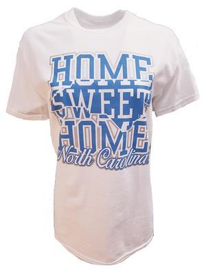 UNC Women's Home Sweet Home Tee WHITE