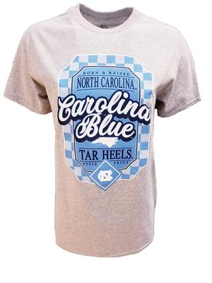 UNC Women's Framed Arc State Tee