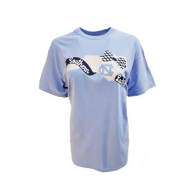 UNC Women's Ribbon And Bows State Logo Tee