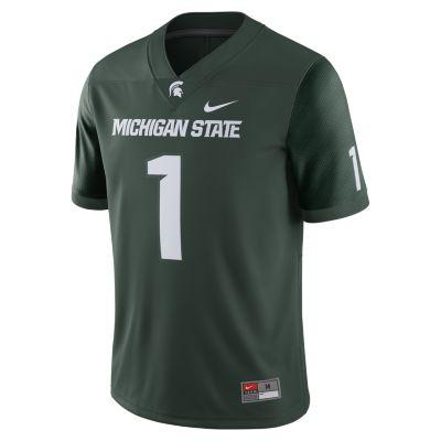 Michigan State Football Game Jersey