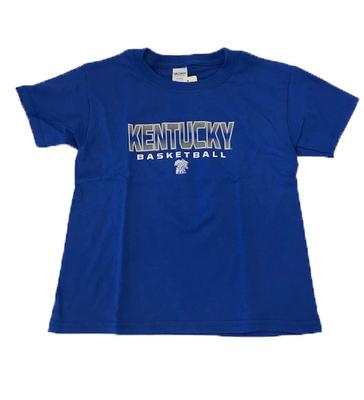 Kentucky Youth Basketball Letters Pattern Tee