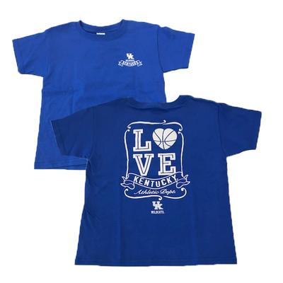 Kentucky Youth Love Basketball T-Shirt