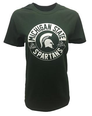 Michigan State Circle Logo Short Sleeve Tee