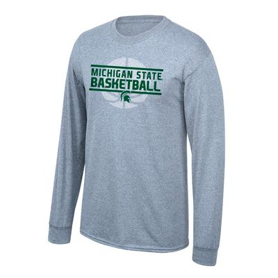 Michigan State Long Sleeve Basketball Shirt