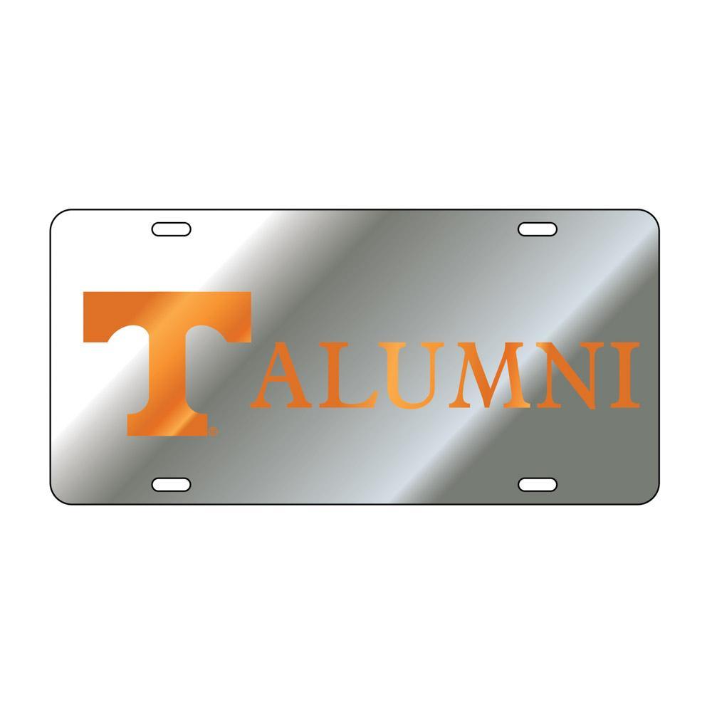 Vols- Tennessee Power T Alumni License Plate- Alumni Hall