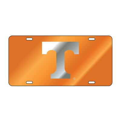 Tennessee Silver Power T License Plate Frame
