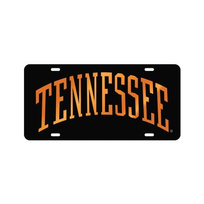 Tennessee Black Arch License Plate