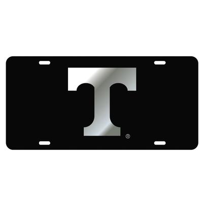 Tennessee Black with Silver Power T License Plate