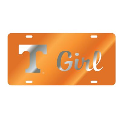 Tennessee Power T Girl License Plate