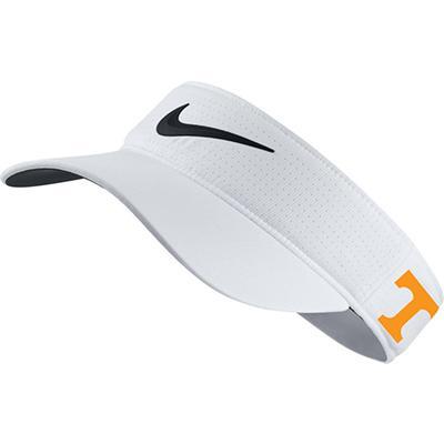 Tennessee Nike Golf Women's AeroBill Golf Visor WHITE