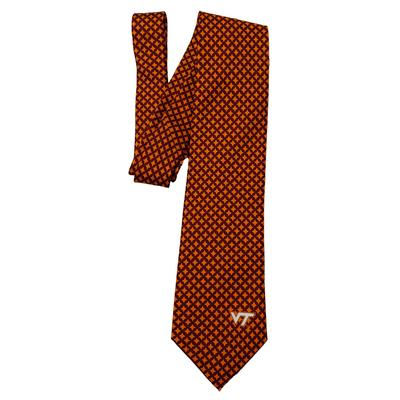 Virginia Tech Diamante Tie