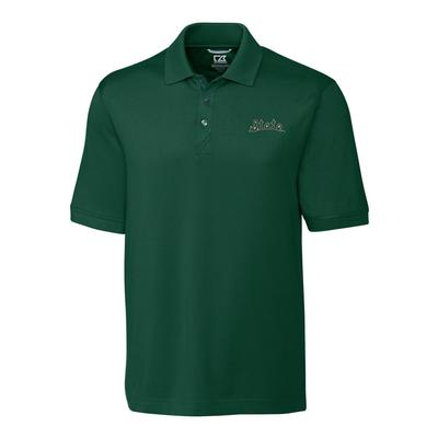 Michigan State Cutter And Buck Retro Logo Advantage DryTec Polo