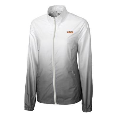 Tennessee Cutter And Buck Women's Ombre Full Zip Jacket