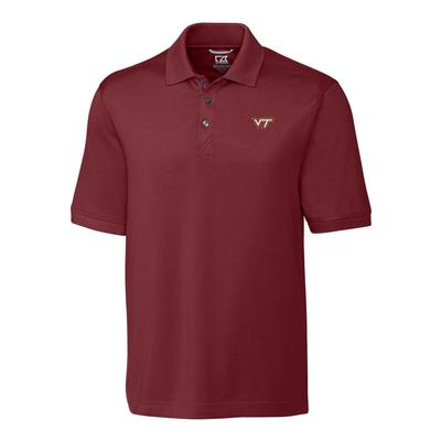 Virginia Tech Cutter And Buck Advantage DryTec Polo