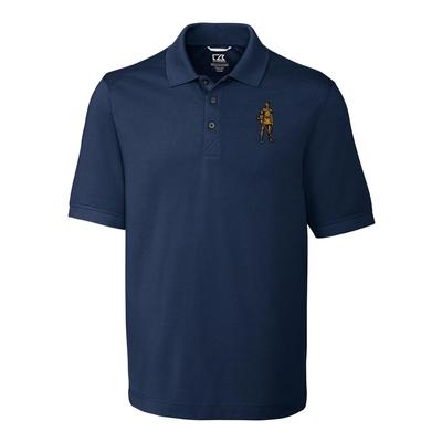 West Virginia Cutter And Buck Vault Logo Advantage DryTec Polo