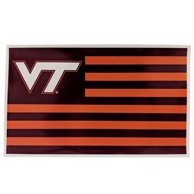 Virginia Tech Hokie Nation Flag Magnet