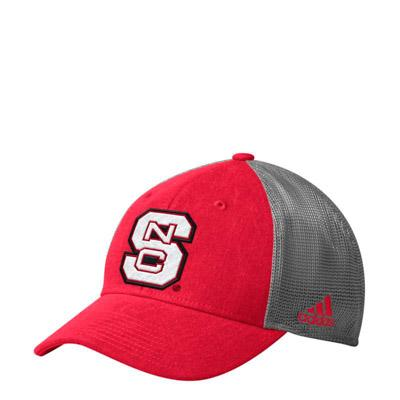NC State Adidas Meshback Flex Fit Hat
