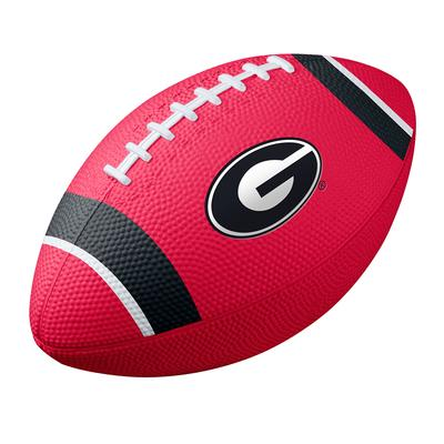 Georgia Nike Mini Rubber Football