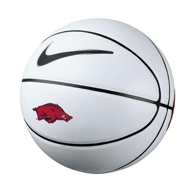 Arkansas Nike Autograph Basketball
