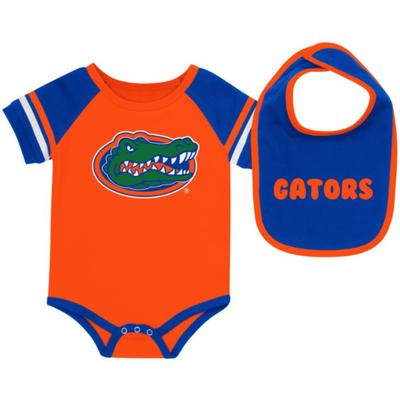 Florida Colosseum Infant Roll-Out Onesie and Bib Set