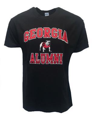 Georgia Standing Bulldog Alumni T-shirt BLACK