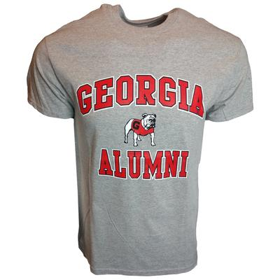 Georgia Standing Bulldog Alumni T-shirt GREY
