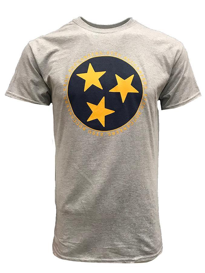Etsu Tristar Logo T- Shirt
