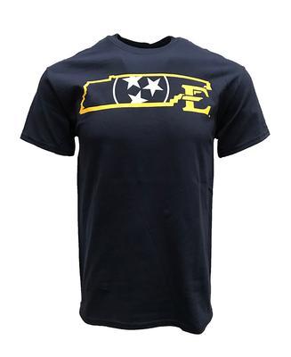 ETSU Tristar State Logo T-shirt