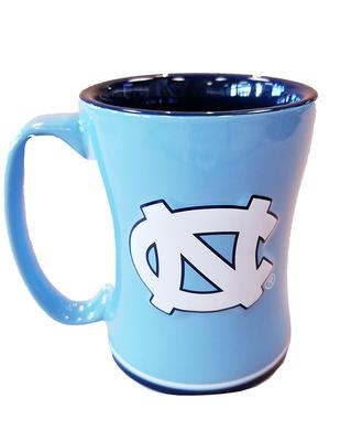 UNC Sculpted Relief Mug