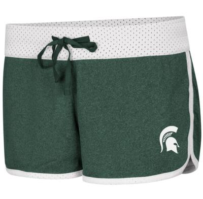 Michigan State Colosseum Women's Reversible Belle Shorts