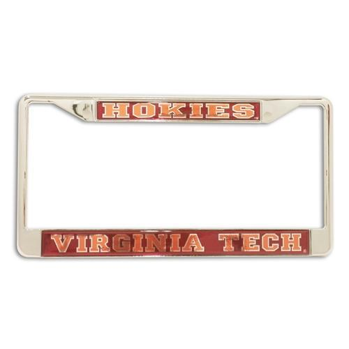 Virginia Tech Hokies License Plate Frame
