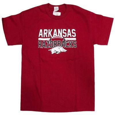 Arkansas Razorbacks Football Lines T-Shirt