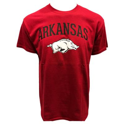 Arkansas Basic Arch Logo Tee