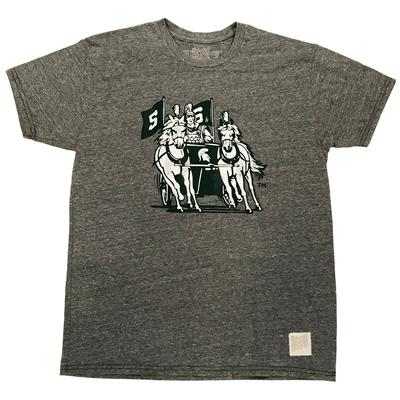 Michigan State Chariot Triblend Tee