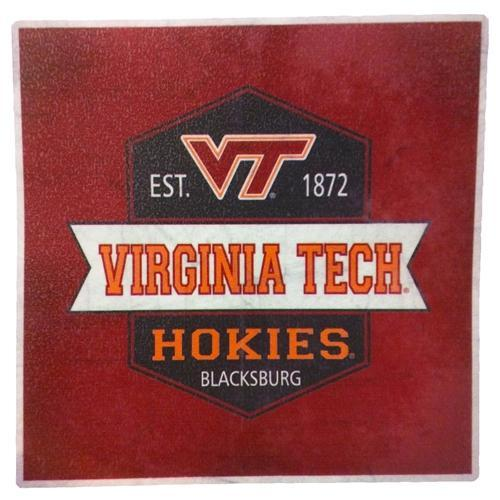 Virginia Tech Vintage Decal 4