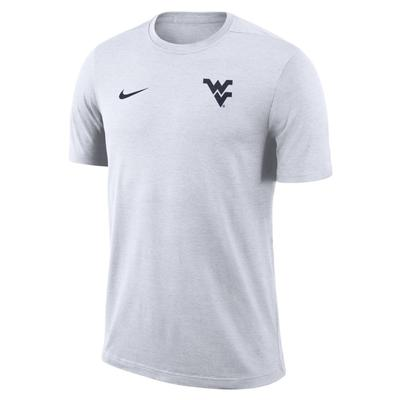 West Virginia Nike Short Sleeve Coaches Top