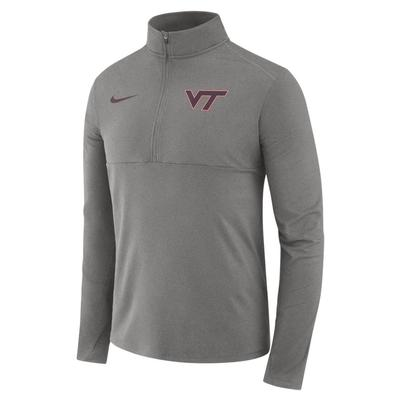 Virginia Tech Nike Dri-FIT 1/2 Zip Core Pullover