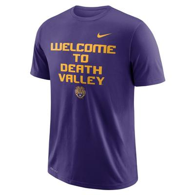 LSU Nike Dri-FIT Cotton Local Tee