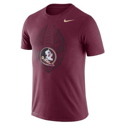Florida State Nike Dri-FIT Cotton Football Icon Tee